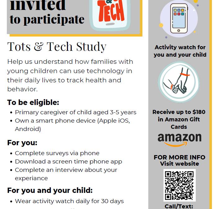 Tots & Tech Study